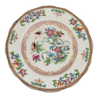 Antique English Minton Boyle Chinoiserie Plates- Set of 6 For Sale