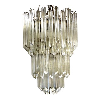 Camer 3-Tier Prism Chandelier For Sale