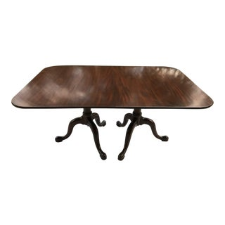 1960s Queen Anne Henkel Harris Dining Table For Sale