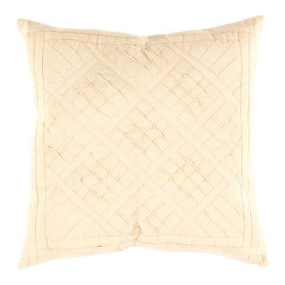 Indian White Color Cotton Pillow For Sale