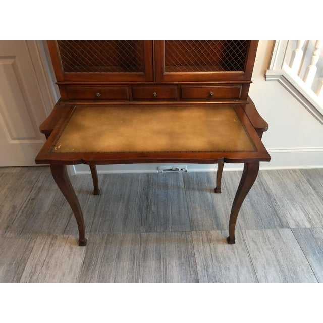 Heritage Henredon French Country Style Secretary For Sale In Richmond - Image 6 of 10