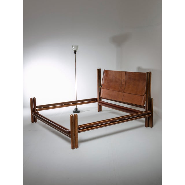 """Toledo"" Double Bed by Carlo Scarpa by Simon Gavina For Sale - Image 10 of 11"