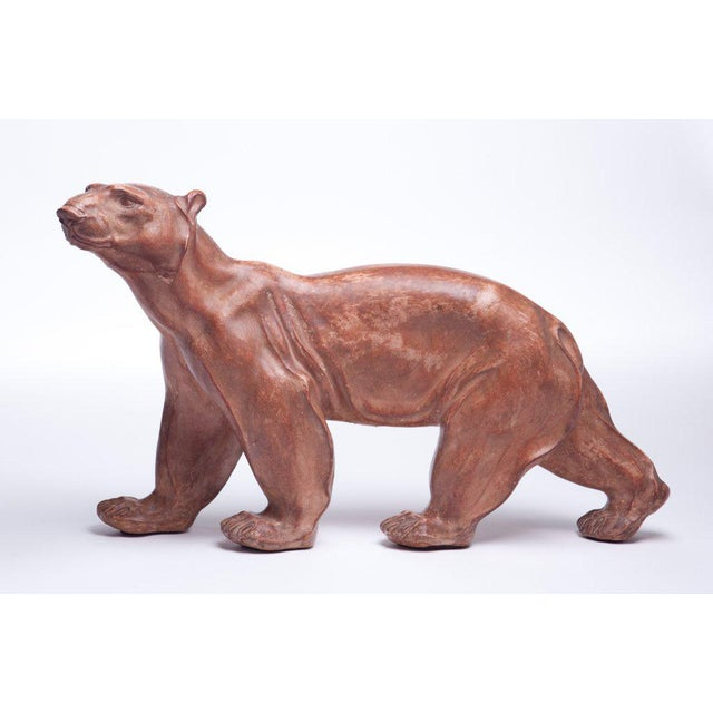 1930s Polar Bear Sculpture Attributed to Atelier Primavera For Sale - Image 5 of 10