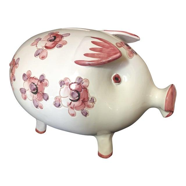 Mid Century Italian Ceramics Piggy Bank For Sale