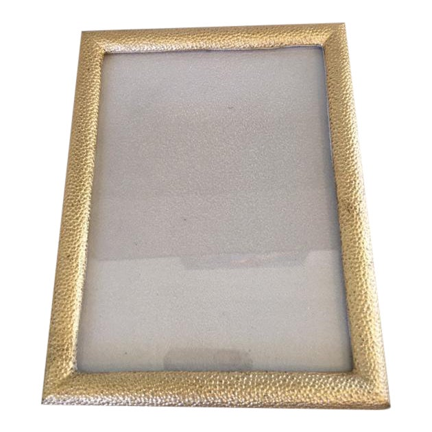 Gold Shagreen Picture Frame - Image 1 of 7