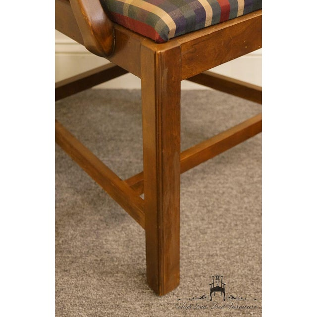 Late 20th Century Drexel Heritage Chippendale Style Dining Chair For Sale - Image 9 of 13