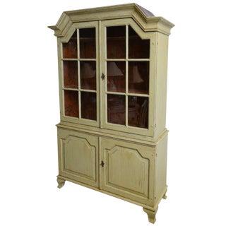 18th Century Antique Period Baroque Painted Cabinet