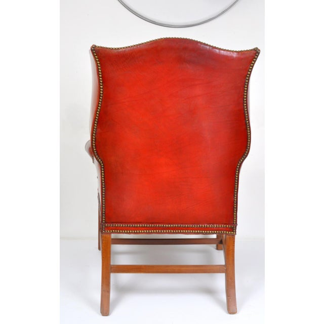 Wingback Chair, England For Sale - Image 4 of 12