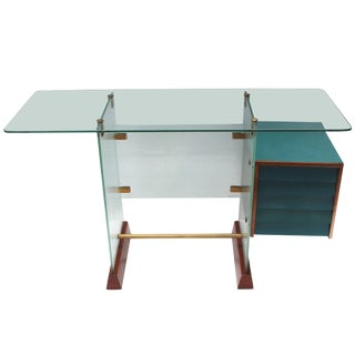 Gio Ponti Glass Desk For Sale