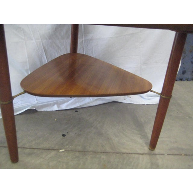 Kresten Buch Danish Modern Guitar Pick Side Table For Sale - Image 6 of 7