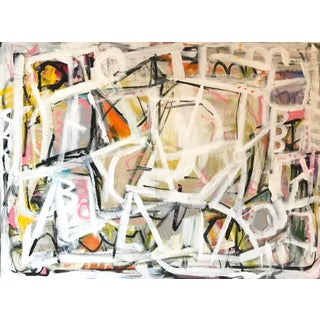 """""""Go Figure"""" Contemporary Abstract Painting For Sale"""