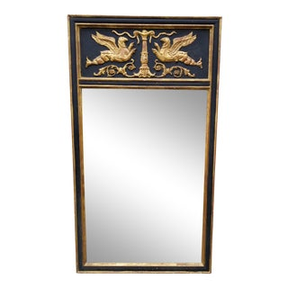 Neoclassical Style Large Giltwood Mirror For Sale