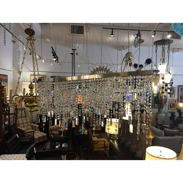 Italamp Italian Swarovski Crystal Chandelier - Image 7 of 9