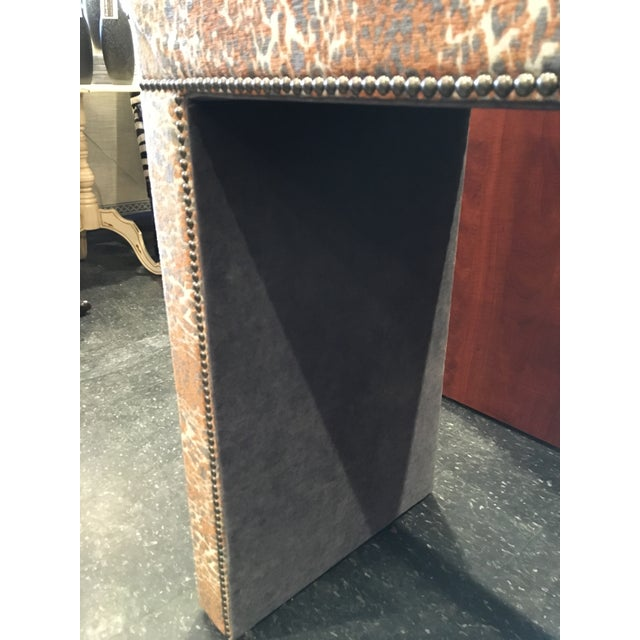 Wesley Hall Fabric Covered Console Table - Image 7 of 8