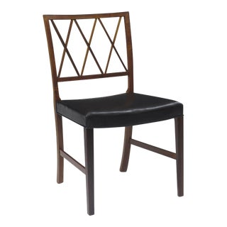 Ole Wanscher for Aj Iversen Rosewood Dining Chairs