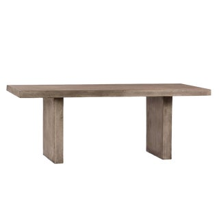 Outdoor Cement Resin Dining Table For Sale
