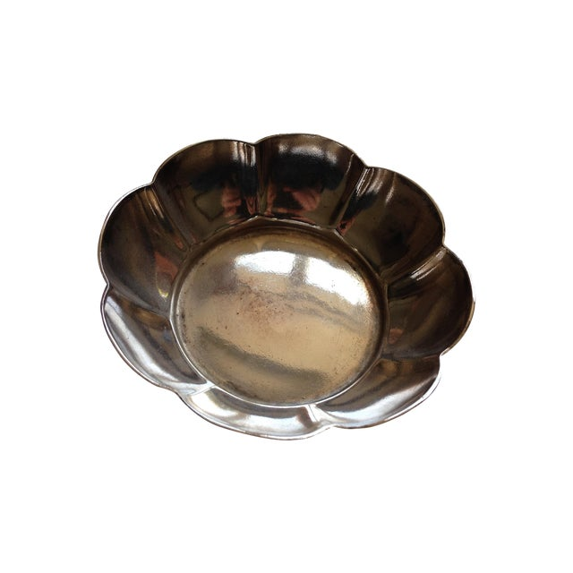 Vintage Reed & Barton 6551S Flower Silver Bowl - Image 1 of 7