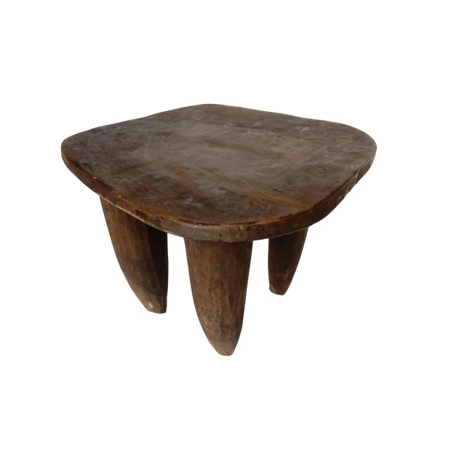 Cote d'Ivoire Carved Senufo Stool - Image 1 of 6