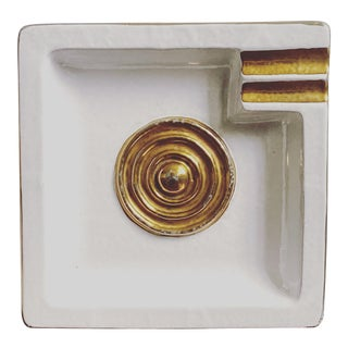 Mid Century Modern Italian Bitossi Ashtray For Sale
