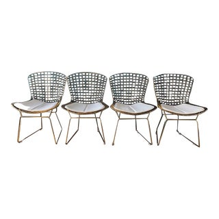 Replica Harry Bertoia Dining Chairs - Set of 4 For Sale