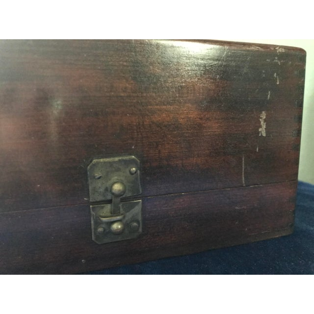 Vintage s.s. White Dental Manufacturing Company Zinc Cement Supply Box For Sale - Image 9 of 12