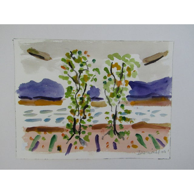 Birch Trees by the Ocean by George Daniell - Image 2 of 4