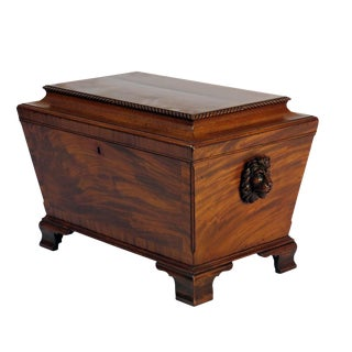 1860 English Regency Mahogany Wine Cooler