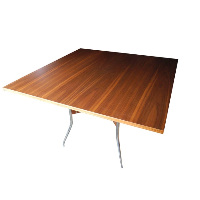 This dining table was 1 of 12 specially designed by George Nelson for Kansas State University Culinary School. These were...