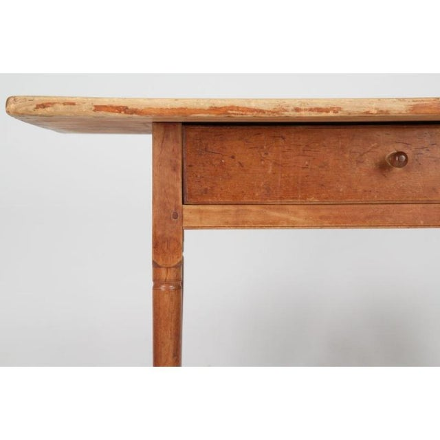 Antique American Pine Farm Table - Image 8 of 11