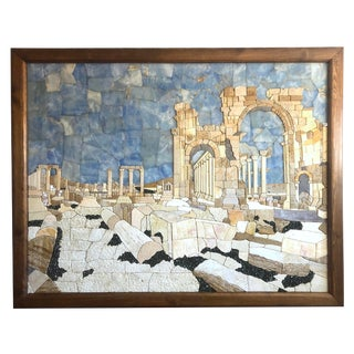 Vivid and Unique Mosaic Panel For Sale