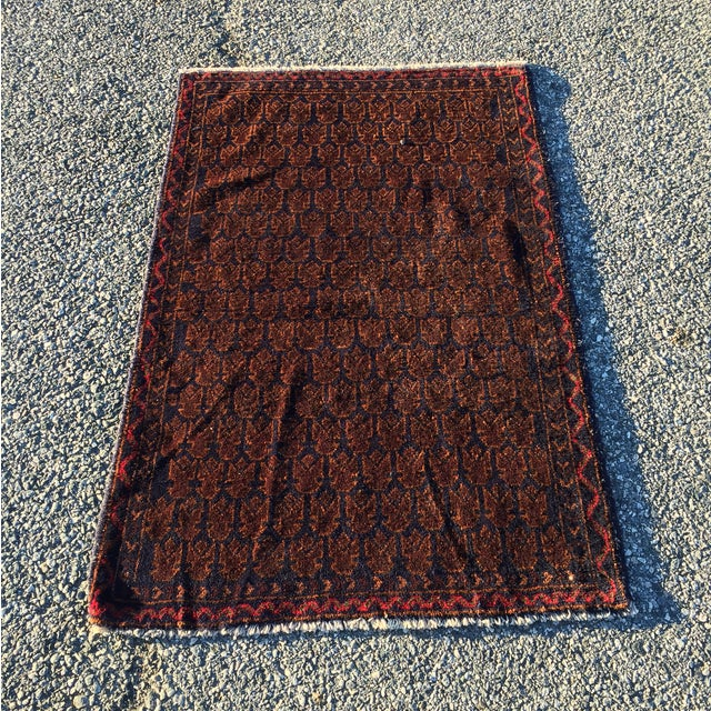 "Baluchi Persian Rug - 3' X 4'7"" - Image 2 of 8"