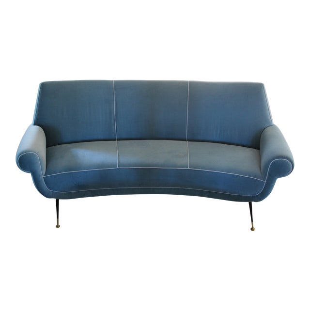 Curved Sofa by Gigi Radice for Minotti - Image 1 of 3