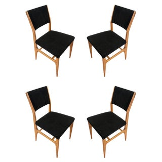 Dining Chairs by Gio Ponti for Singer & Sons - Set of Four For Sale