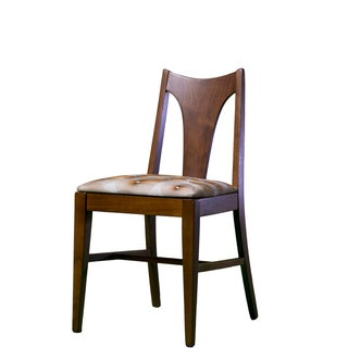 Walnut Accent Chair For Sale