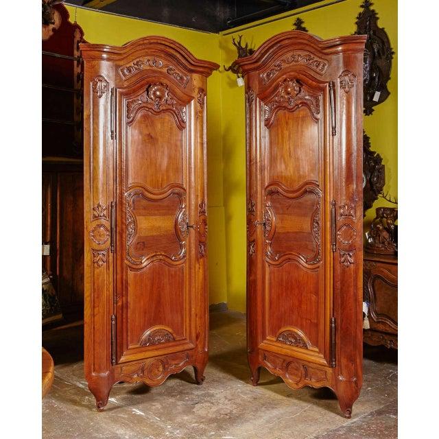 Pair Of 18th Century Louis XV Walnut Carved Doors Corner