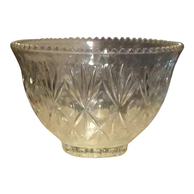 Crystal Punch Bowl - Image 1 of 6