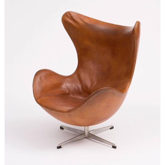 First Edition Egg Chair by Arne Jacobsen, Denmark, 1959 - Image 3 of 11