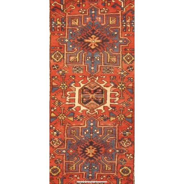 """Persian 1920's Antique Persian Karajeh Rug - 2'9""""x10'5"""" For Sale - Image 3 of 4"""