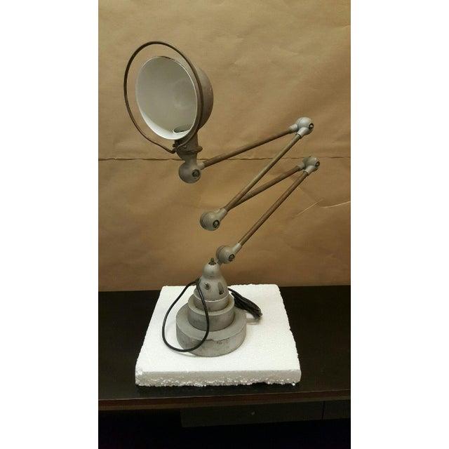 Vintage Jielde Steel Expandable Table/Floor Lamp - Image 2 of 3