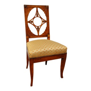 Russian Neoclassical Side Chair For Sale