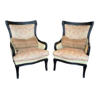 Vintage Carol Hicks Bolton for Ej Victor's Berber Kammlah Collection Arm Chairs - a Pair For Sale