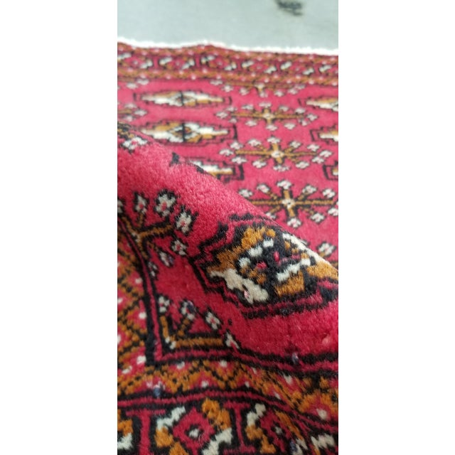 Textile 1950s Vintage Persian Rug - 1′8″ × 3′2″ For Sale - Image 7 of 10