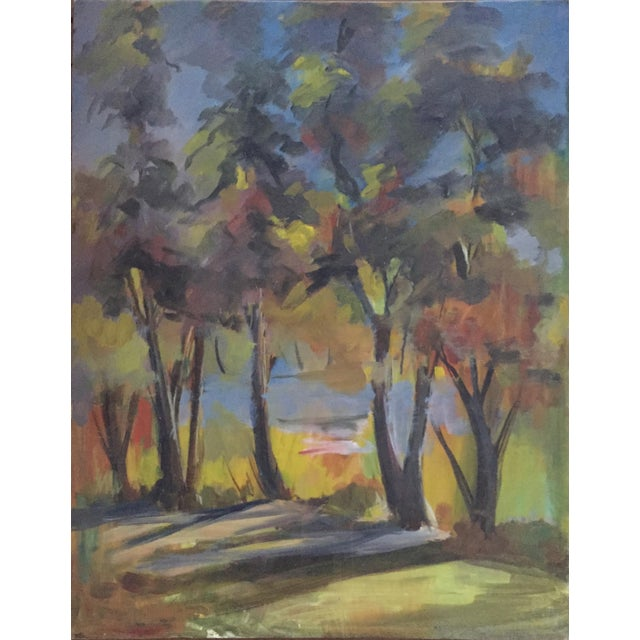 Will Frates Vintage California Landscape Painting - Image 1 of 4