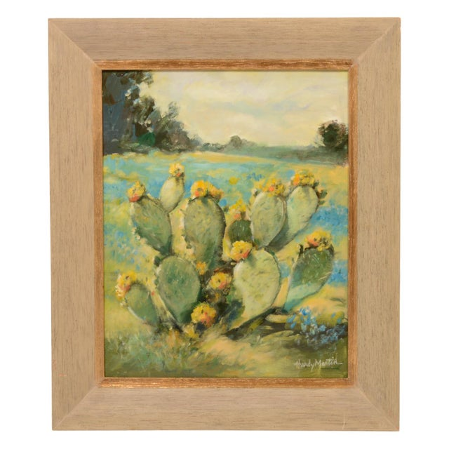 Salinas Cactus Framed Painting For Sale In Dallas - Image 6 of 6