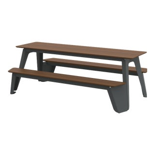 Large Rambler Picnic Table in Graphite For Sale
