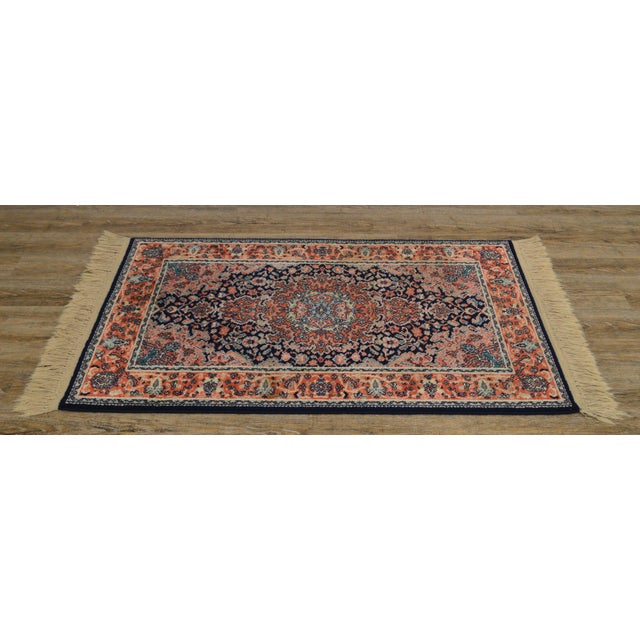 "Karastan Kashan Medallion 2'10"" X 5' Throw Rug #741 (A) For Sale - Image 4 of 13"