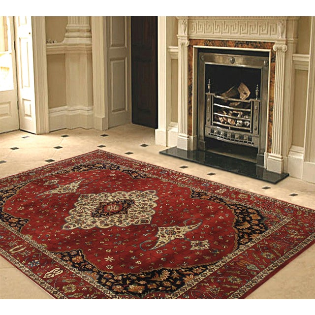 """Pasargad Ferehan Collection Rug - 7'11"""" X 10' - Image 2 of 2"""