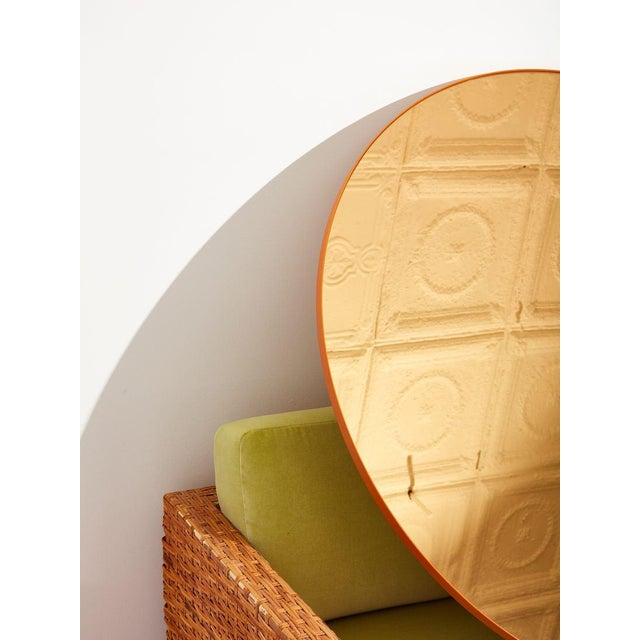 Aytm Large Black Circum Mirror For Sale In New York - Image 6 of 7