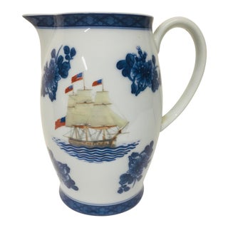Mottahedeh Constitution Porcelain Pitcher For Sale