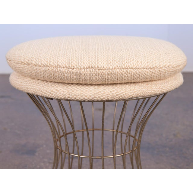 Warren Platner Style Wire Stool For Sale - Image 4 of 7